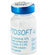 Optosoft 42 UV (1 линза )